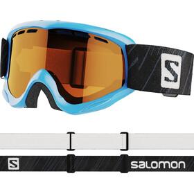 Salomon Juke Access Gafas Niños, azul/naranja